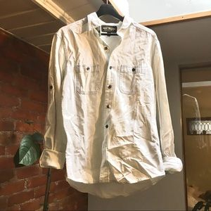 Salt Valley light denim button down